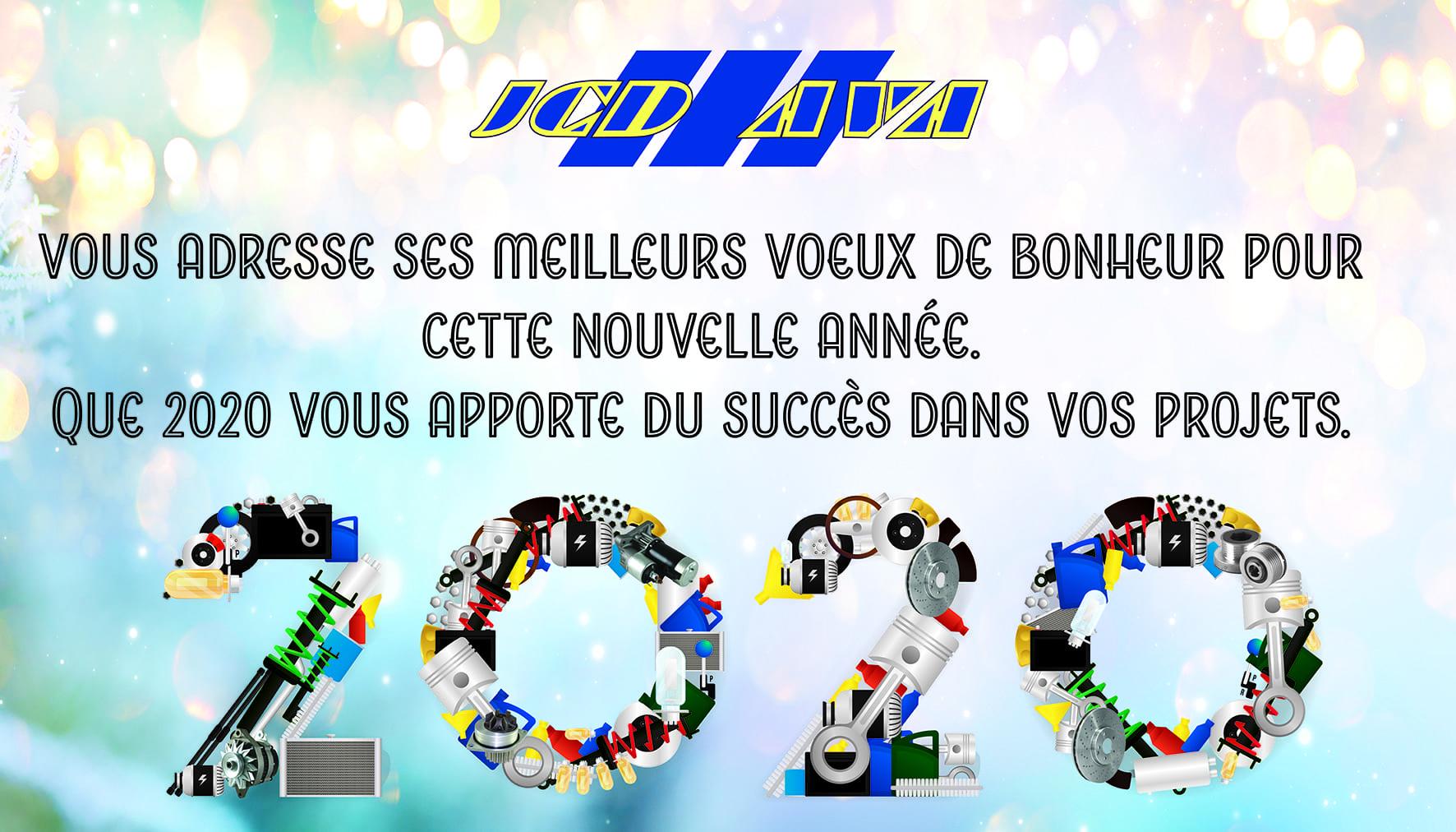 JCD AVA vous adresse ses meilleurs voeux de bonheur pour cette nouvelle année. Que 2020 vous apporte du succès dans vos projets.